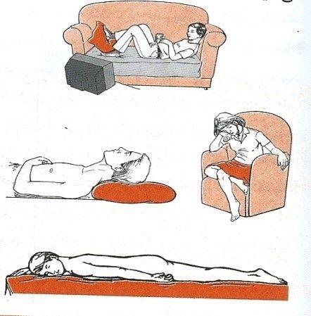 حالات نادرست بدن در هنگام خوابیدن