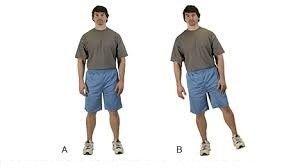 ورزش های تعادلی انتقال وزن
