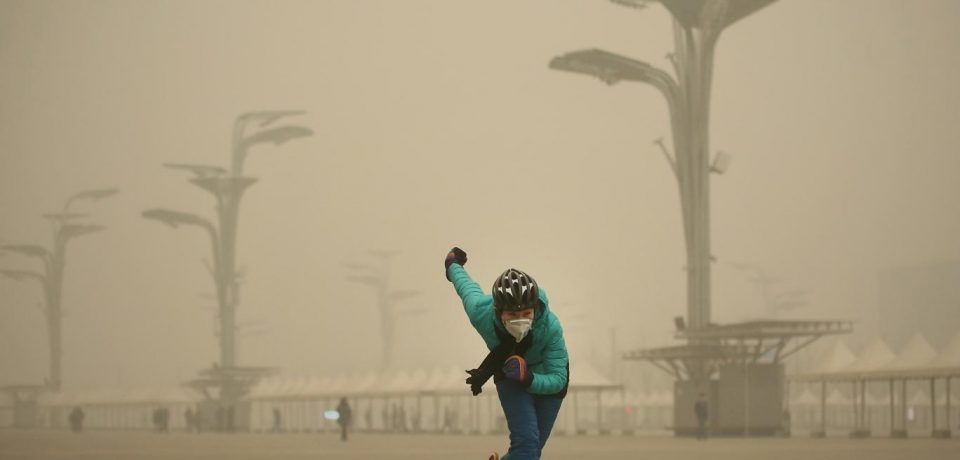 عوارض ورزش های فضای باز در هوای آلوده