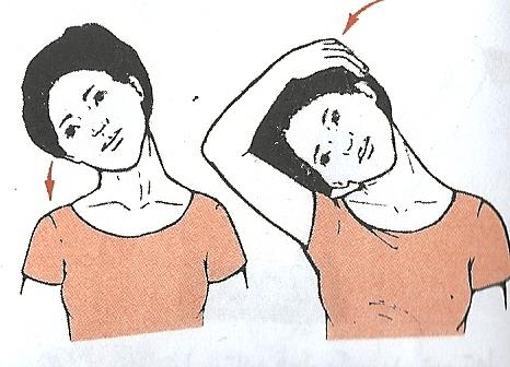 کشش گردن برای درمان گردن درد