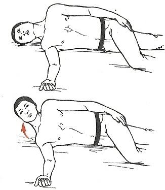 ورزش هایی برای تقویت عضلات گردن